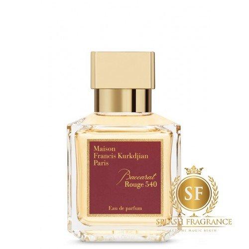 Baccarat Rouge 540 By Maison Francis Kurkdjian Edp Perfume Splash