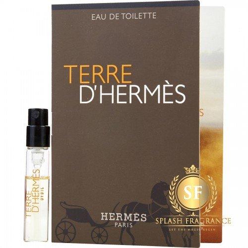 Terre De Hermes EDT For Men 1.5ml Perfume Sample Spray