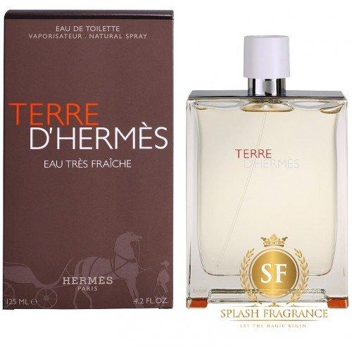Eau Fraiche Edt Terre D' 125ml Perfume Hermes 29HDEI