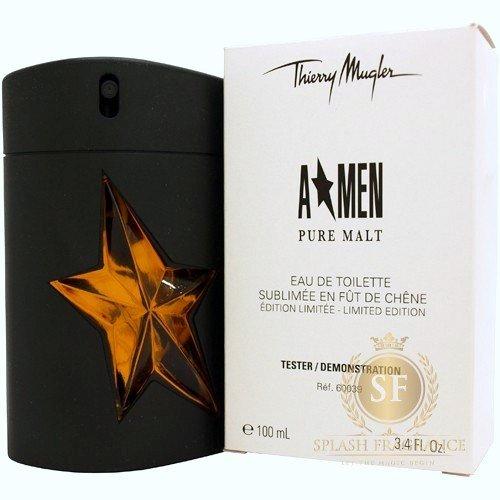A*Men Pure Malt By Thierry Mugler Boxed Tester 100ml EDP Perfume