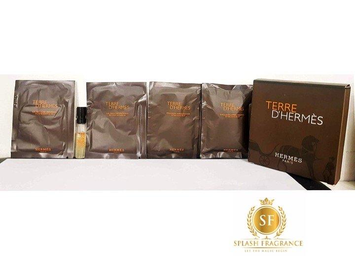 Terre D' Hermes 5pc Sample Set