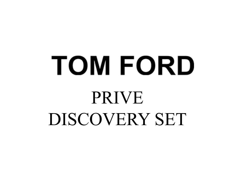 Tom Ford Prive Discovery Set