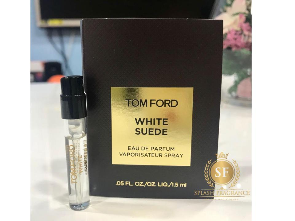 White Suede By Tom Ford 1.5Ml EDP Vial Sample Spray