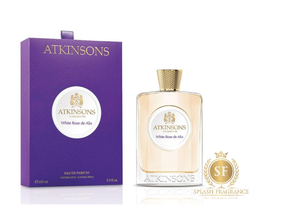 White Rose De Alix By Atkinsons 1799 EDT Perfume