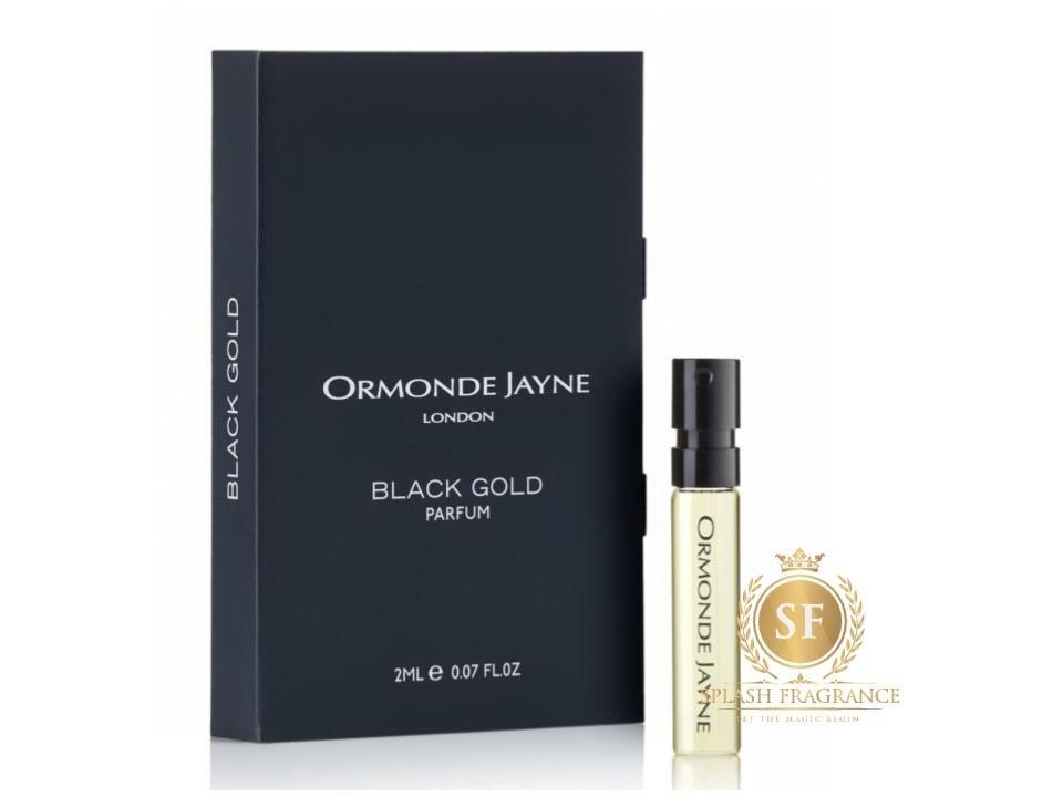 Black Gold By Ormonde Jayne 2ml Parfum Spray Sample Vial
